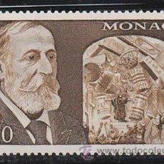 Sellos: MONACO IVERT 8769, 50 ANIVERSARIO DE CAMILLE SAINT SAENS, NUEVO ***. Lote 46211913