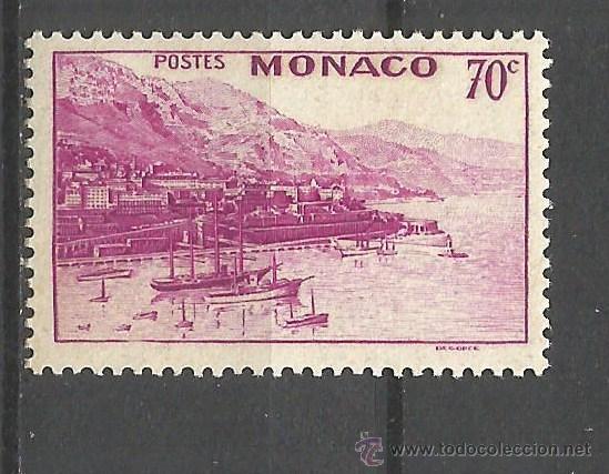 MONACO 1939-41 YVERT NUM. 175B * NUEVO CON FIJASELLOS (Sellos - Extranjero - Europa - Mónaco)