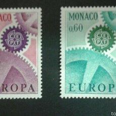 Sellos: SELLOS DE MÓNACO. EUROPA CEPT. YVERT 729/30 SERIE COMPLETA NUEVA SIN CHARNELA.. Lote 52546159