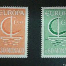 Sellos: SELLOS DE MÓNACO. EUROPA CEPT. YVERT 698/9. SERIE COMPLETA NUEVA SIN CHARNELA.. Lote 52546048