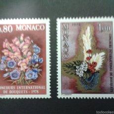 Sellos: SELLOS DE MÓNACO. FLORA. YVERT 1115/6 SERIE COMPLETA NUEVA SIN CHARNELA.. Lote 52740778