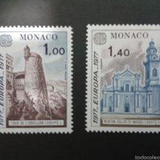 Sellos: SELLOS DE MÓNACO. EUROPA CEPT. YVERT 1101/2. SERIE COMPLETA NUEVA SIN CHARNELA.. Lote 52740786