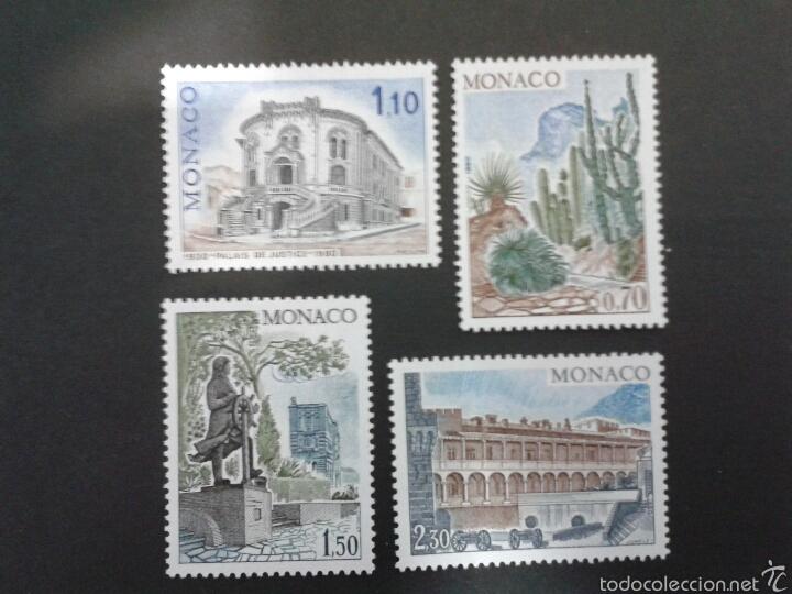SELLOS DE MÓNACO. YVERT 1214/7. SERIE COMPLETA NUEVA SIN CHARNELA. (Sellos - Extranjero - Europa - Mónaco)