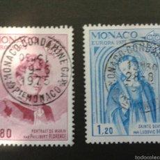 Sellos: SELLOS DE MÓNACO. EUROPA CEPT. YVERT 1003/4. SERIE COMPLETA USADA.. Lote 52757274