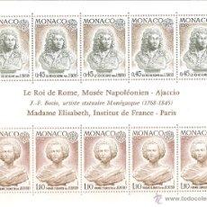 Sellos: MONACO HOJA BLOQUE Nº 9** TEMA EUROPA AÑO 1974. Lote 53546565