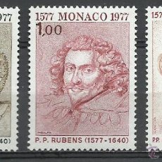 Timbres: MONACO - 1977 - MICHEL 1270/1272 // SCOTT 1064/1066** MNH. Lote 54559613