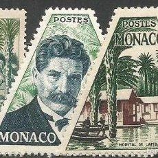 Timbres: MONACO YVERT NUM. 412/414 SERIE COMPLETA NUEVA SIN GOMA. Lote 57236084
