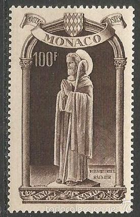 MONACO YVERT NUM. 364 * NUEVO CON FIJASELLOS (Sellos - Extranjero - Europa - Mónaco)