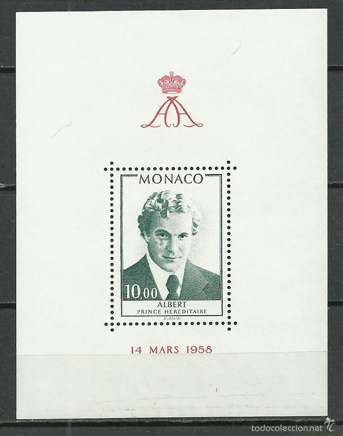 HOJA BLOQUE Nº16 DE MONACO DE 1979 NUEVA PERFECTA (Sellos - Extranjero - Europa - Mónaco)