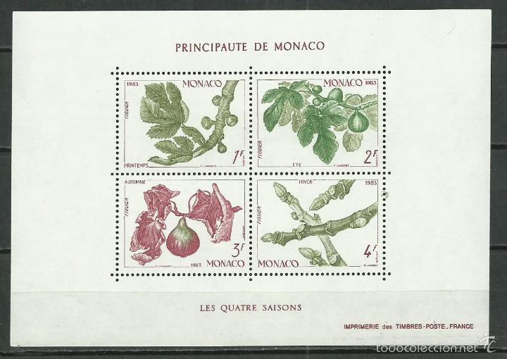HOJA BLOQUE Nº 26 DE MONACO DE 1983 NUEVA PERFECTA (Sellos - Extranjero - Europa - Mónaco)