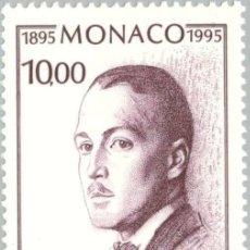 Sellos: MONACO 1995 IVERT 1983 *** CENTENARIO DEL NACIMIENTO DEL PRINCIPE PEDRO DE MONACO. Lote 58126779