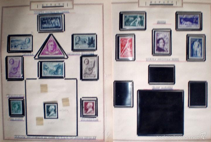 Sellos: BONITO RESTO DE COLECCIÓN DE MONACO DE 1891 A 1968,SERIES NUEVAS Y USADAS + AEREOS EN HOJAS DE ALBUM - Foto 3 - 58233453