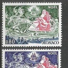 Sellos: MONACO YVERT NUM. 1113/1114 ** SERIE COMPLETA SIN FIJASELLOS. Lote 140863593