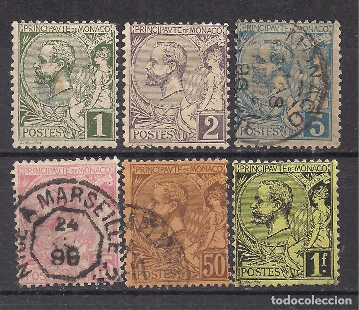 MONACO 1891 - USADO (Sellos - Extranjero - Europa - Mónaco)