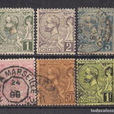 Sellos: MONACO 1891 - USADO. Lote 99868871