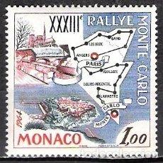 Selos: MONACO 1963 - NUEVO. Lote 99871607