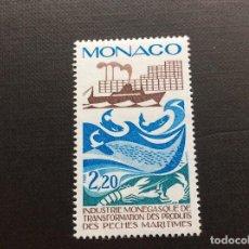 Sellos: MONACO Nº YVERT 1499*** AÑO 1985. ACTIVIDADES INDUSTRIALES EN EL PRINCIPADO (III). Lote 103541967