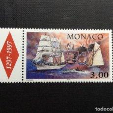 Sellos: MONACO Nº YVERT 2076*** AÑO 1996. YACHT CLUB DE MONACO. Lote 103542307