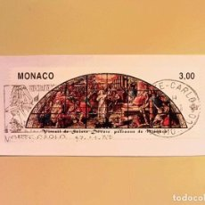 Sellos: MONACO - SANTA DEVOTA PATRONA DE MONACO - MONTECARLO.. Lote 105840407