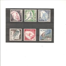 Sellos: MONACO. JUEGOS OLIMPICOS HELSINKI 1952**. Lote 112043303