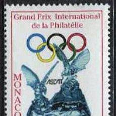 Sellos: MONACO - GRAN PREMIO INTERNACIONAL DE FILATELIA ASCAT (1999) **. Lote 114927595