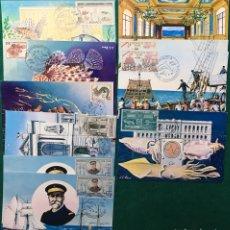 Sellos: MUSEO OCEANOGRÁFICO. MÓNACO. AÑO 1960. Lote 118732636