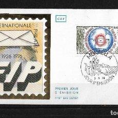 Sellos: MONACO 1976 SOBRE DE PRIMER DIA . Lote 120545755