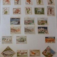 Sellos: MONACO - 1960 - 30 SELLOS NUEVOS CON FIJASELLOS,. Lote 134081398