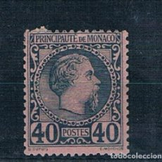 Sellos: MONACO 1885 YVERT 7 MH* V.CATALOGO 125€ VER FOTOS. Lote 137548786
