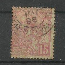 Briefmarken - MONACO 1891--- SELLO USADO - 137735110