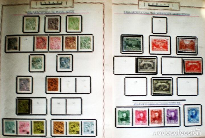 BONITO RESTO DE COLECCIÓN DE MONACO DE 1891 A 1968,SERIES NUEVAS Y USADAS + AEREOS EN HOJAS DE ALBUM (Sellos - Extranjero - Europa - Mónaco)