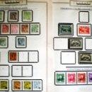 Sellos: BONITO RESTO DE COLECCIÓN DE MONACO DE 1891 A 1968,SERIES NUEVAS Y USADAS + AEREOS EN HOJAS DE ALBUM. Lote 140776166