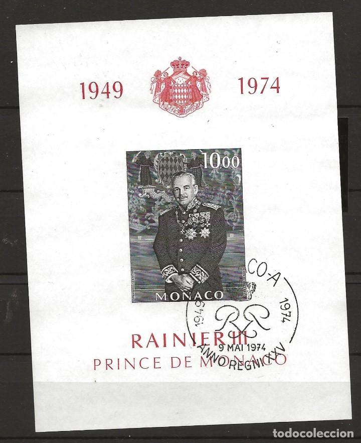 R60/ MONACO HB 8, 1949/74, RAINIER III, PRINCIPE DE MONACO (Sellos - Extranjero - Europa - Mónaco)