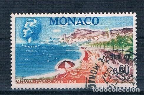 MONACO 1966 YVERT 694 USADO (Sellos - Extranjero - Europa - Mónaco)
