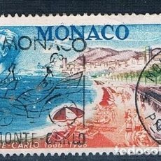 Sellos: MONACO 1966 YVERT 694 USADO. Lote 144664298