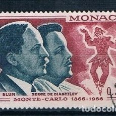 Sellos: MONACO 1966 YVERT 695 USADO. Lote 144664442