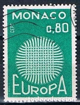 MONACO 1970 YVERT 820 USADO (Sellos - Extranjero - Europa - Mónaco)
