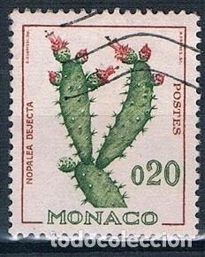 MONACO 1960 YVERT 543 USADO (Sellos - Extranjero - Europa - Mónaco)