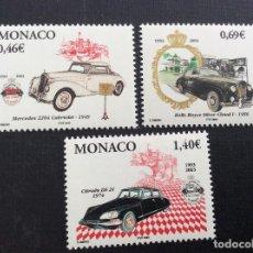 Sellos: MONACO Nº YVERT 2369/1*** AÑO 2003. AUTOMOVILES. Lote 146174838