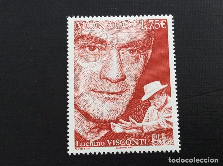 MONACO Nº YVERT 2553*** AÑO 2006. CENTENARIO NACIMIENTO DIRECTOR DE CINE LUCHINO VISCONTI (Sellos - Extranjero - Europa - Mónaco)