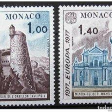 Sellos: SELLOS USADOS DE MONACO, YT 1101/ 02. Lote 149447234