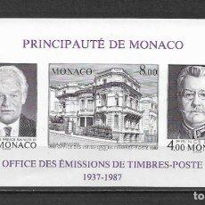 Sellos: MONACO 1987 ** MNH SIN DENTAR - 189. Lote 149610790