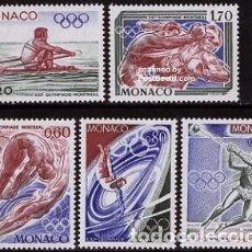 Sellos: SELLOS NUEVOS DE MONACO, YT 1057/ 61. Lote 152541614