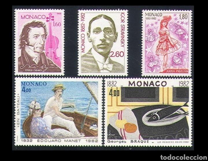 MONACO: AÑO 1982 MNH, TEMA ARTE. (Sellos - Extranjero - Europa - Mónaco)