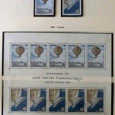 Sellos: SELLOS MONACO 1983- FOTO 633- EUROPA, NUEVO BLOQUE Y 2 SELLOS. Lote 155056814