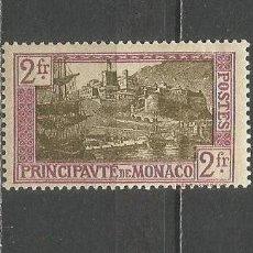 Sellos: MONACO 1924 YVERT NUM. 100 * NUEVO CON FIJASELLOS. Lote 159059974