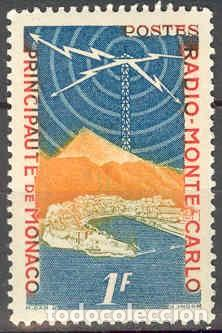 SELLO USADO DE MONACO, YT 376 (Sellos - Extranjero - Europa - Mónaco)