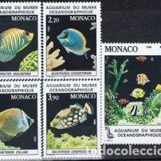 Sellos: SELLOS USADOS DE MONACO, YT 1483/ 87. Lote 165009962