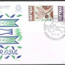 Sellos: [CF6043A] MÓNACO 1965, FDC SERIE EUROPA (NS). Lote 165665782