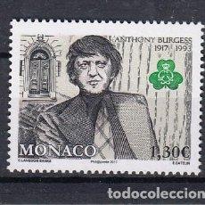Sellos: MONACO 2017 CENTENARIO DEL NACIMIENTO DE ANTHONY BURGESS. Lote 168628748
